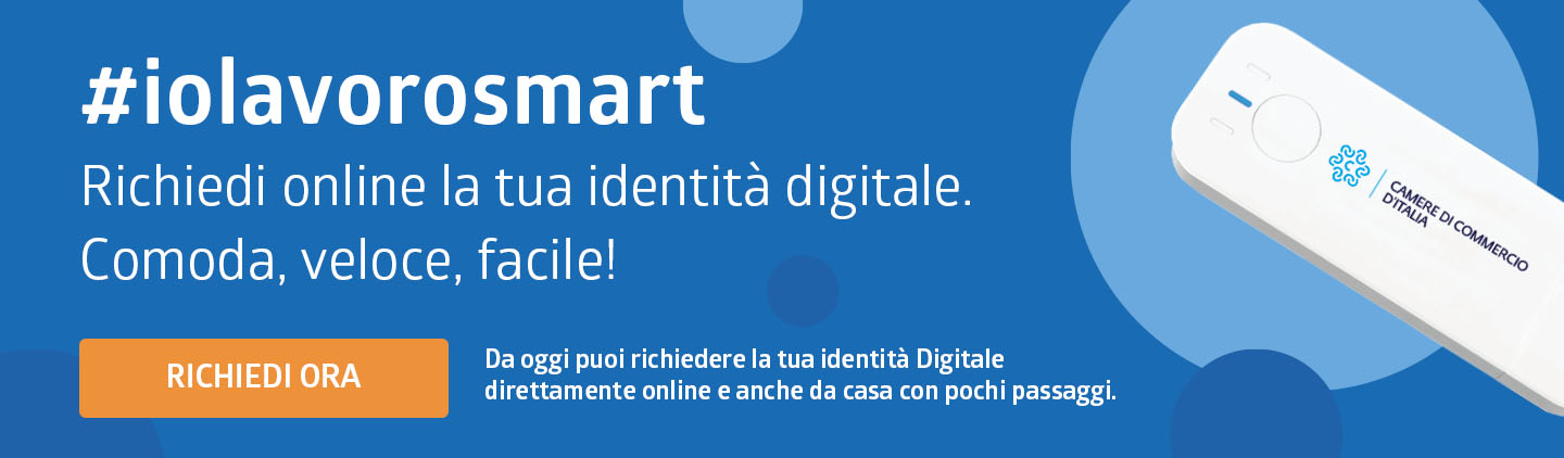 Richiedi on line la tua identità digitale